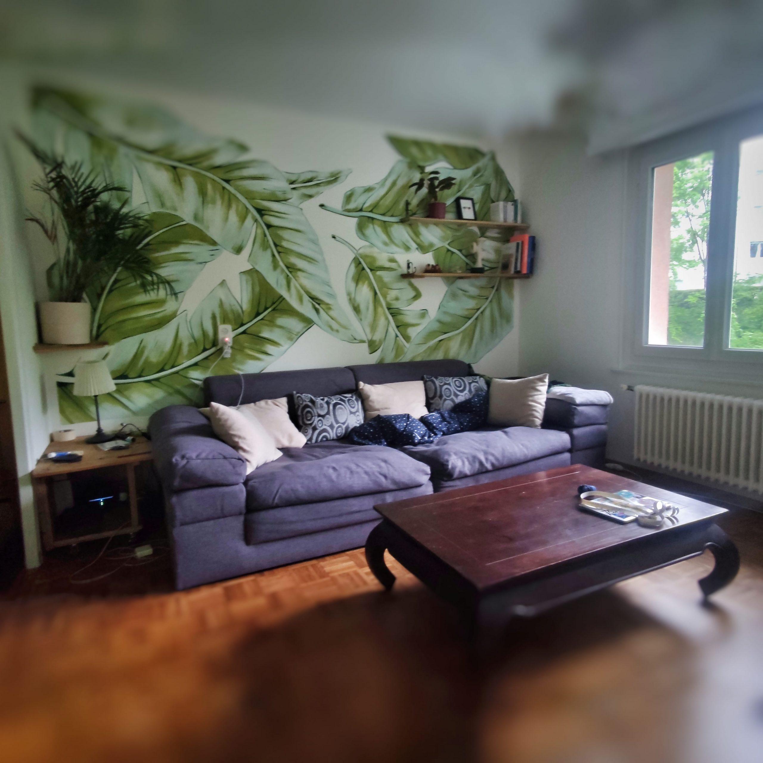 plantes jungle decoration design